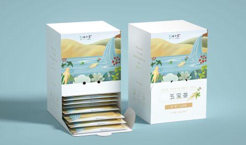 养生茶系列包装设计